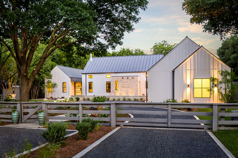 Modern farmhouse olsen studios for Texas farmhouse plans